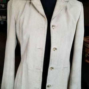 VINTAGE GAP Womens Suede Jacket Fair Condition Sue
